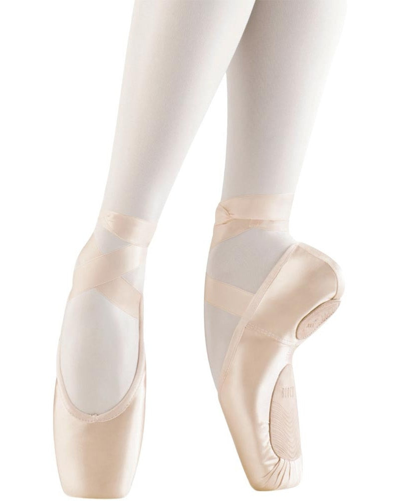 Bloch Eurostretch Stretch Satin Pointe Shoes - S0172 Womens - Dance Shoes - Pointe Shoes - Dancewear Centre Canada