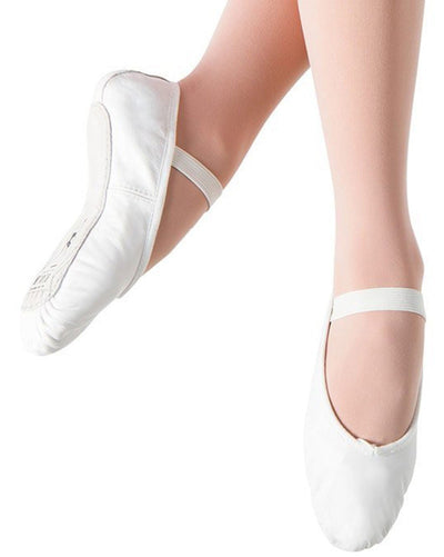 Bloch S0205L - Dansoft Leather Full Sole Ballet Slippers Womens - Dance Shoes - Ballet Slippers - Dancewear Centre Canada