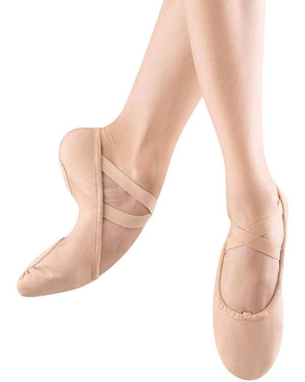 Bloch S0210L - Proflex Canvas Split Sole Ballet Slippers Womens - Dance Shoes - Ballet Slippers - Dancewear Centre Canada