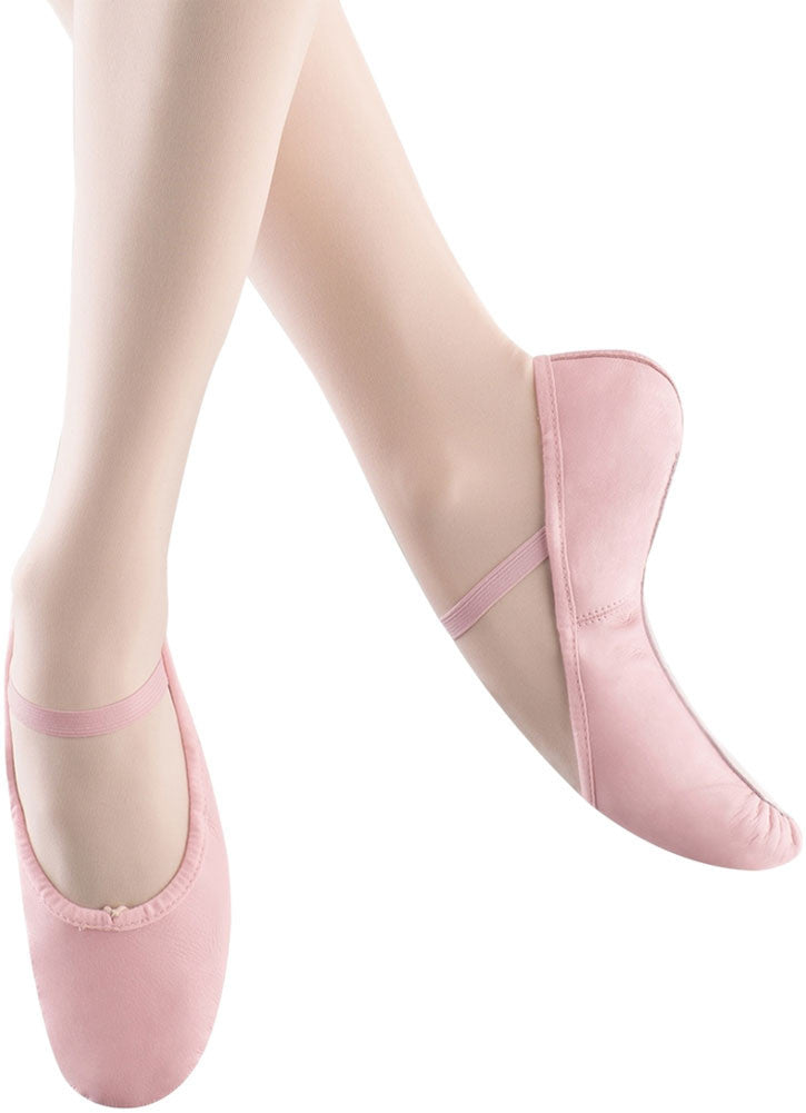 Bloch S0225G - Bunny Hop Full Sole Leather Ballet Slippers Girls