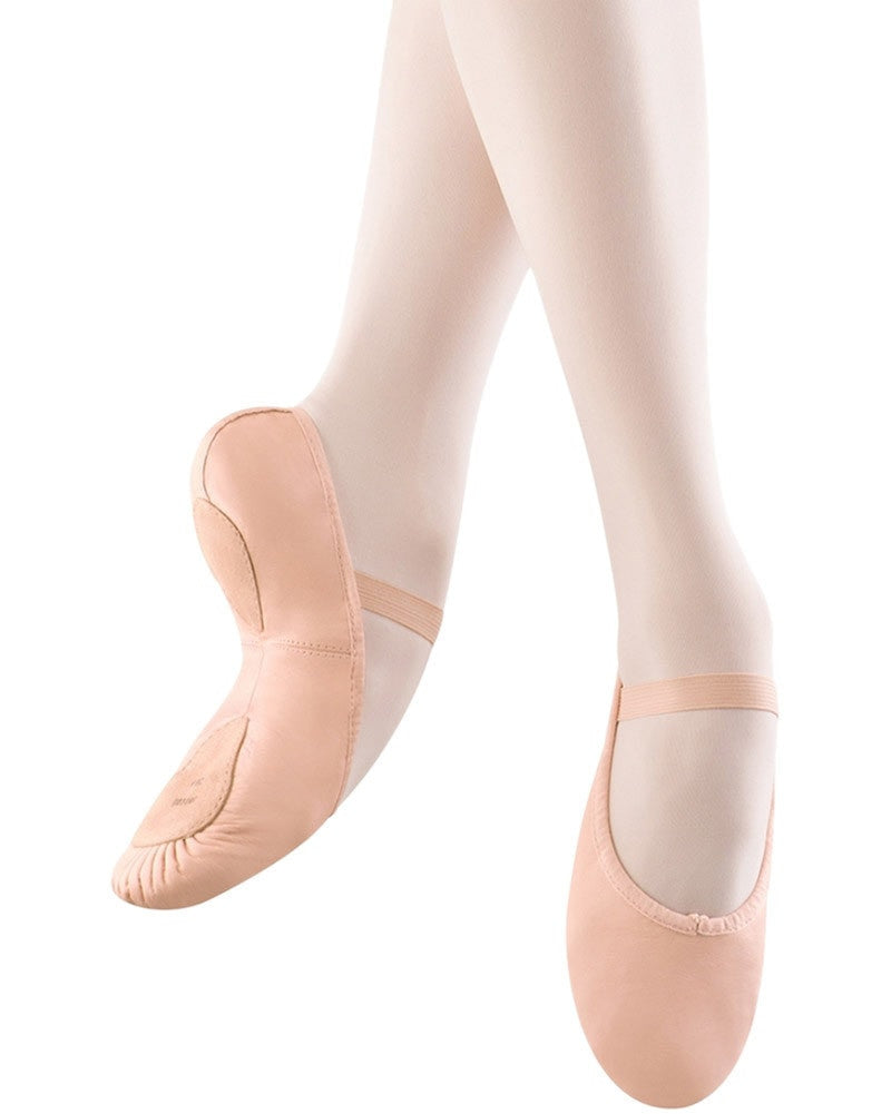 Bloch Dansoft II Leather Split Sole Ballet Slippers - S0258G Girls - Dance Shoes - Ballet Slippers - Dancewear Centre Canada