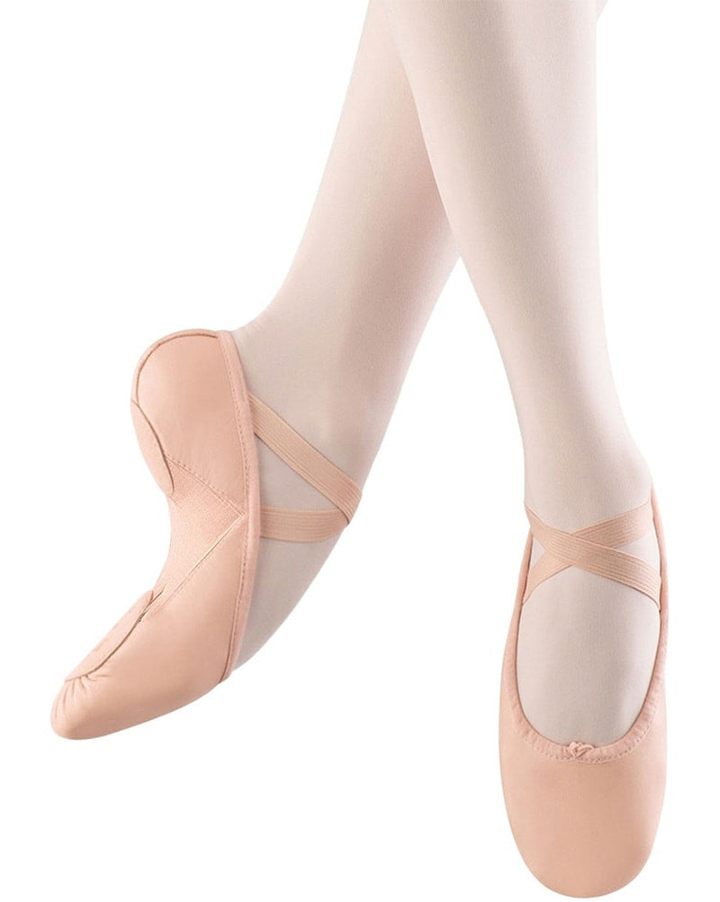 Bloch Pump Hybrid Leather Split Sole Ballet Slippers - S0273L Womens - Dance Shoes - Ballet Slippers - Dancewear Centre Canada