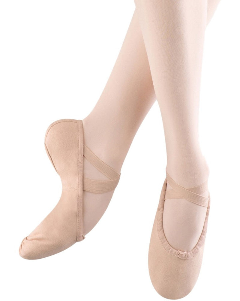 Bloch Pump Canvas Split Sole Ballet Slippers - S0277L Womens - Dance Shoes - Ballet Slippers - Dancewear Centre Canada