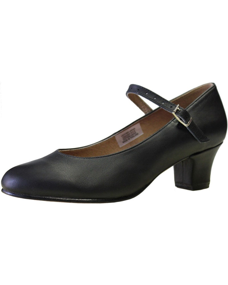 "Bloch Curtain Call Soft Leather 1.5"" Character Shoes - S0304L Womens - Dance Shoes - Character & Musical Theatre Shoes - Dancewear Centre Canada"