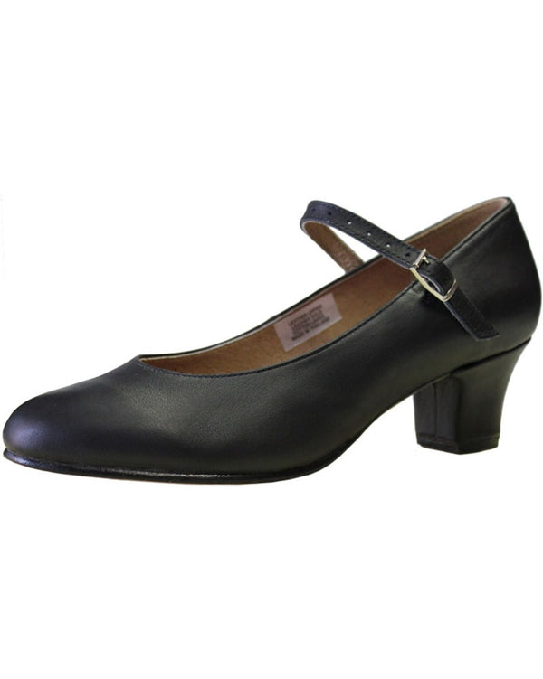 "Bloch S0304L - Curtain Call Soft Leather 1.5"" Character Shoes Womens - Dance Shoes - Character & Musical Theatre Shoes - Dancewear Centre Canada"