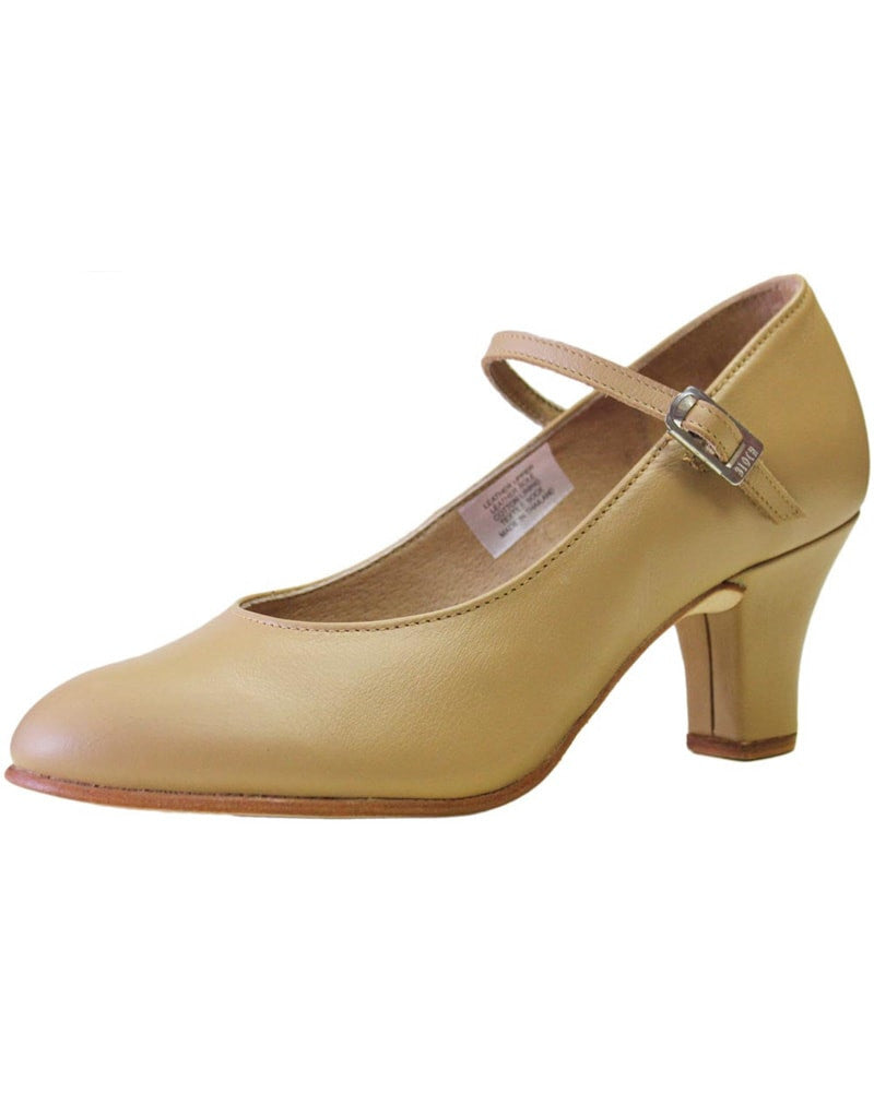 "Bloch Cabaret Soft Leather 2.5"" Character Shoes - S0306L Womens - Dance Shoes - Character & Musical Theatre Shoes - Dancewear Centre Canada"