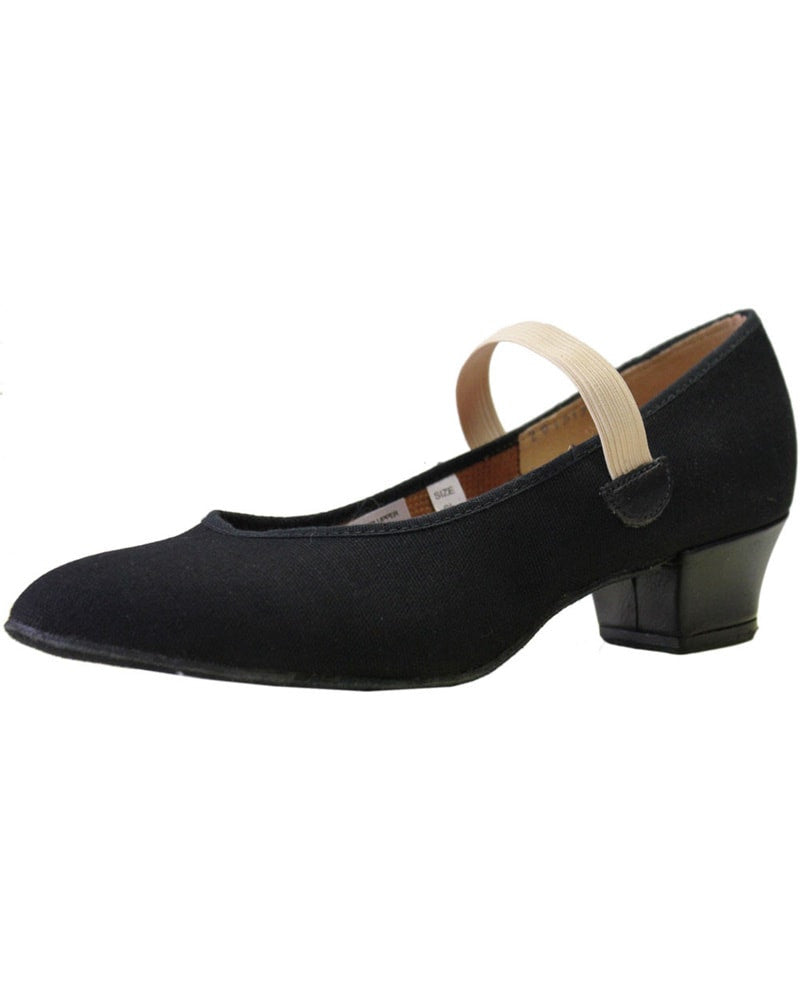 "Bloch Karacta 1 1/4"" R.A.D. Canvas Character Shoes - S0314L Womens - Dance Shoes - Character & Musical Theatre Shoes - Dancewear Centre Canada"