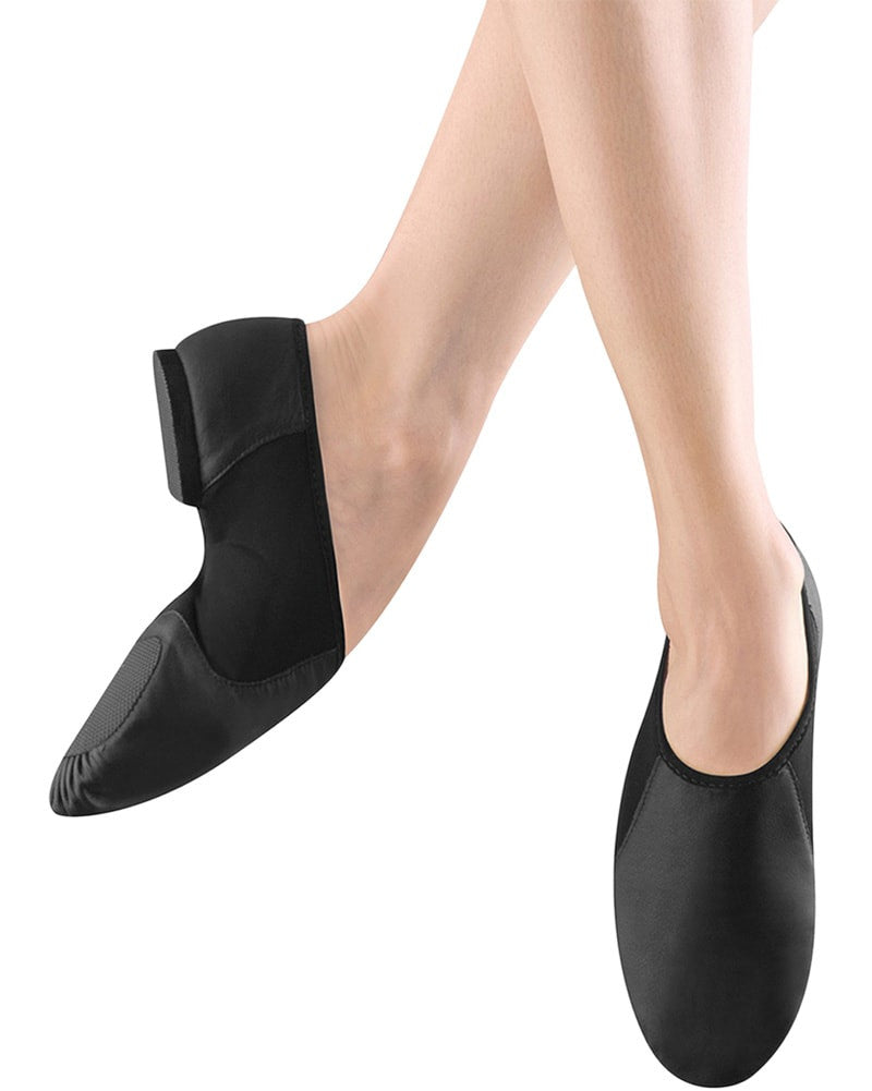 Bloch S0495L - Neo Flex Slip On Leather Jazz Shoes Womens/Mens - Dance Shoes - Jazz Shoes - Dancewear Centre Canada