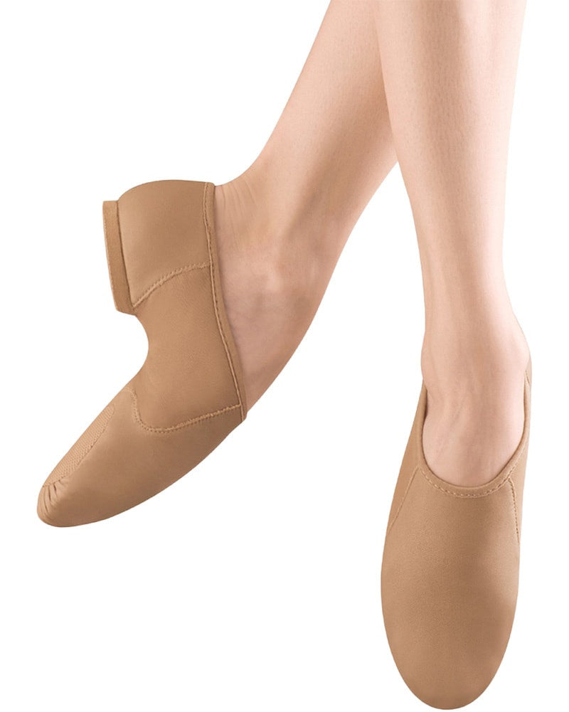 Bloch S0495G - Neo Flex Slip On Leather Jazz Shoes Girls/Boys - Dance Shoes - Jazz Shoes - Dancewear Centre Canada