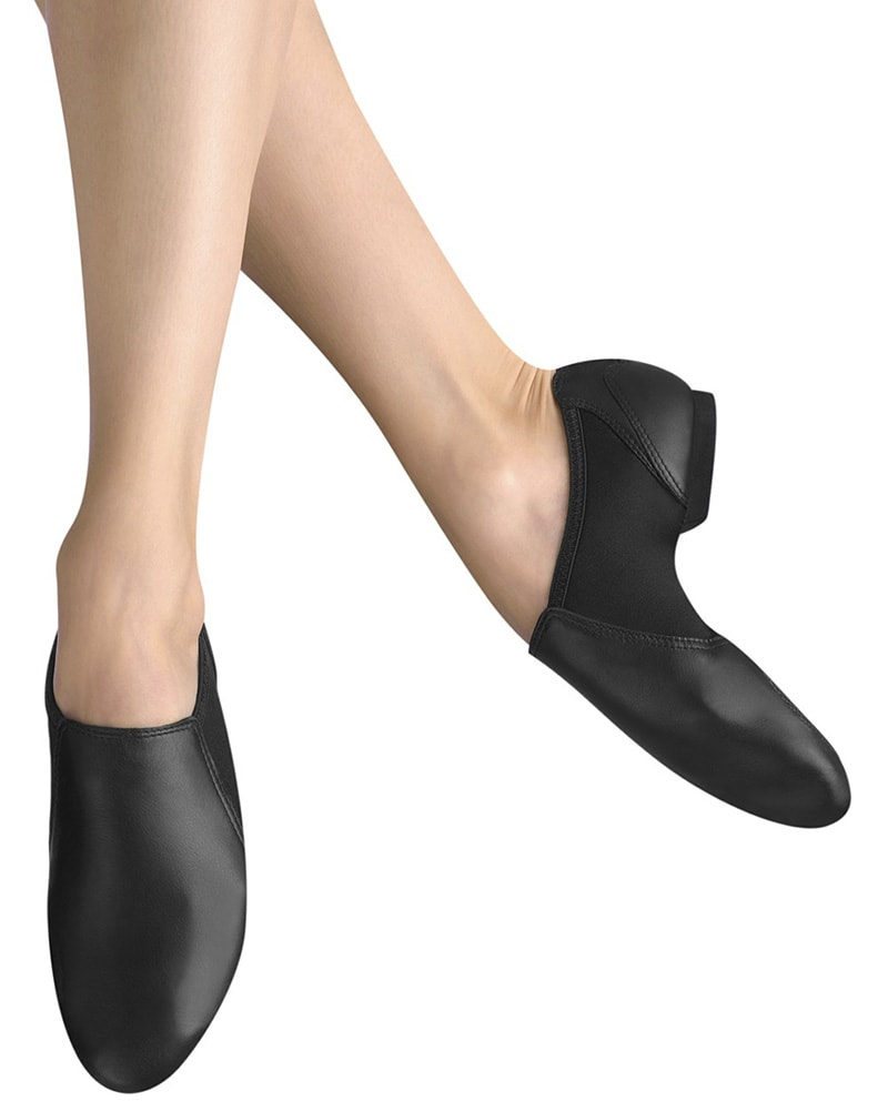 Bloch Spark Neoprene Bootie Slip On Leather Jazz Shoes - S0497L Womens - Dance Shoes - Jazz Shoes - Dancewear Centre Canada