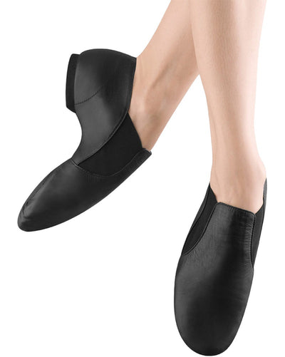 Bloch S0499M - Elasta Bootie Slip On Leather Jazz Shoes Mens - Dance Shoes - Jazz Shoes - Dancewear Centre Canada