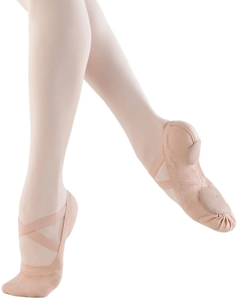 Bloch Synchrony Stretch Canvas Split Sole Ballet Slippers - S0625 Womens - Dance Shoes - Ballet Slippers - Dancewear Centre Canada