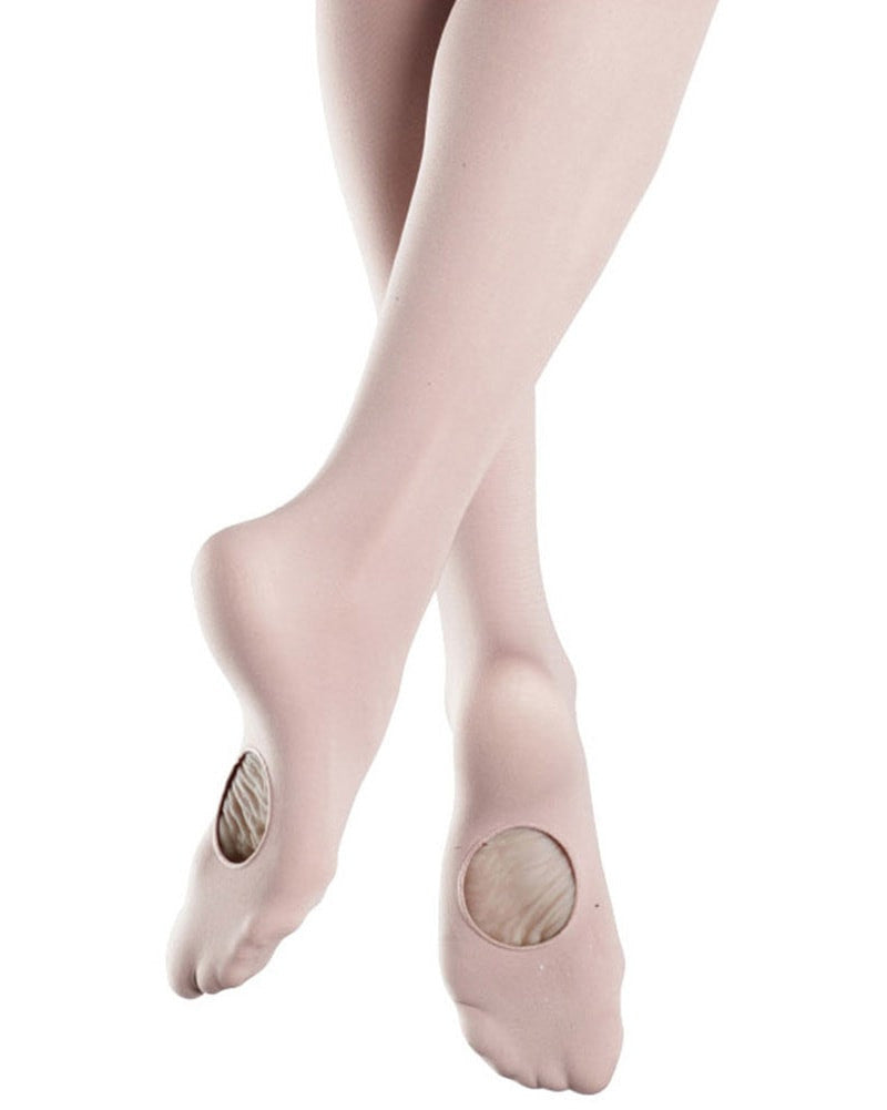 Bloch Endura Adapt-A-Toe Dance Tights - T0935L Womens - Dance Tights - Transition & Convertible Tights - Dancewear Centre Canada