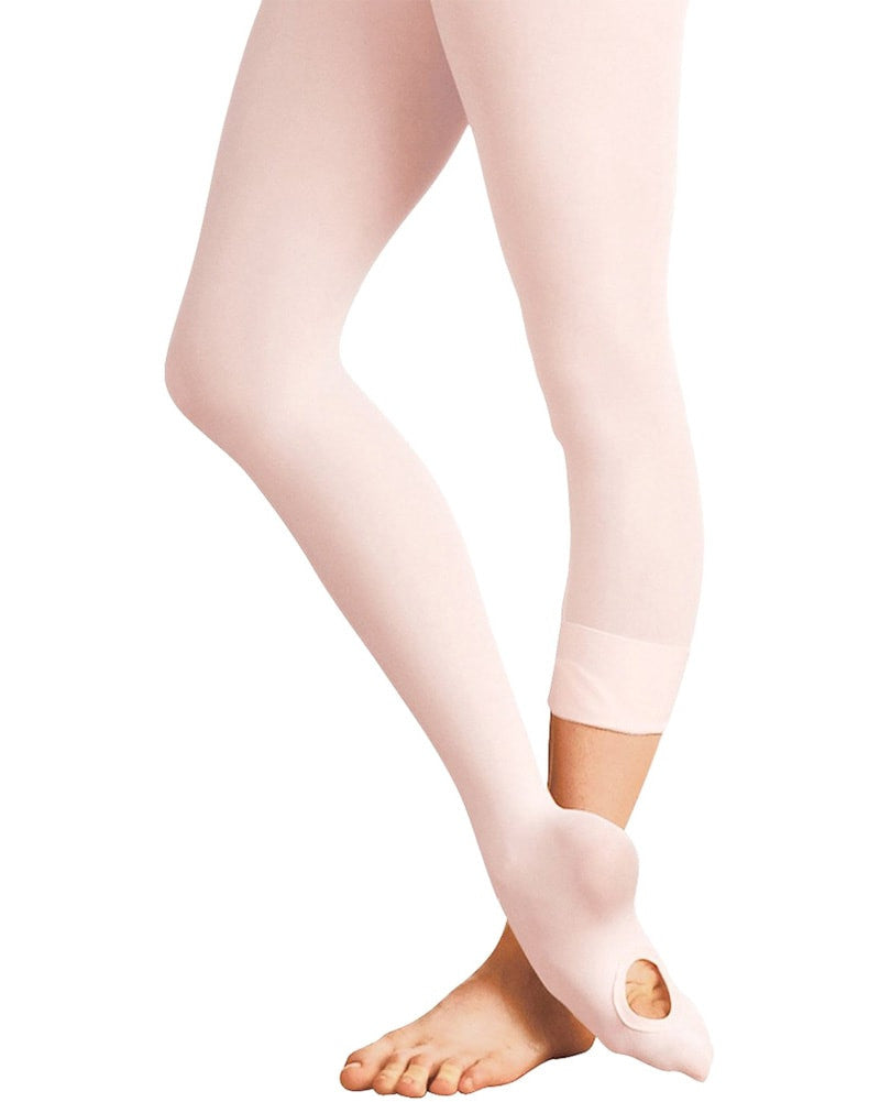 Body Wrappers Total Stretch Convertible Dance Tights - A31 Womens