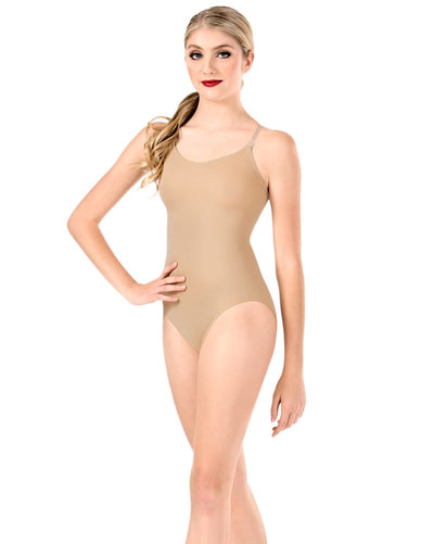 Body Wrappers 266 - Camisole Convertible Bodyliner Undergarment Womens - Dancewear - Undergarments - Dancewear Centre Canada