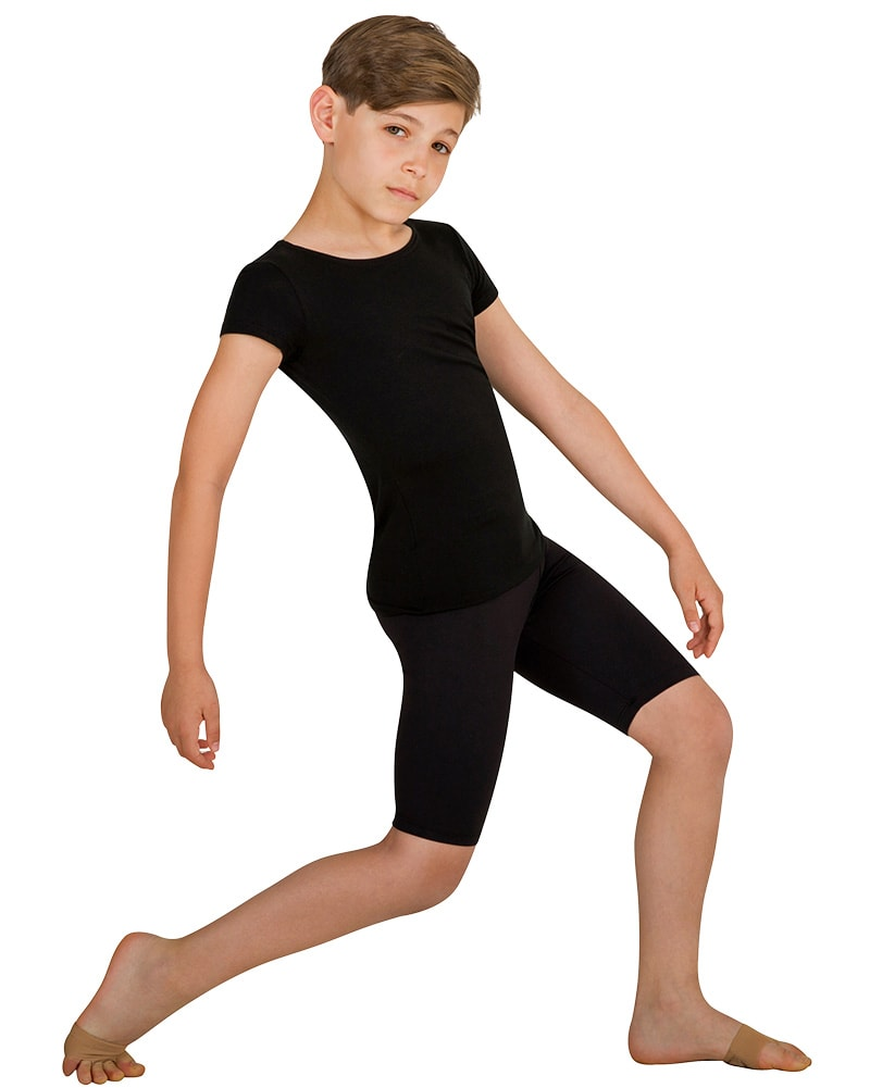 Body Wrappers ProWear Above The Knee Bike Shorts - B196 Boys - Dancewear - Men's & Boys - Dancewear Centre Canada