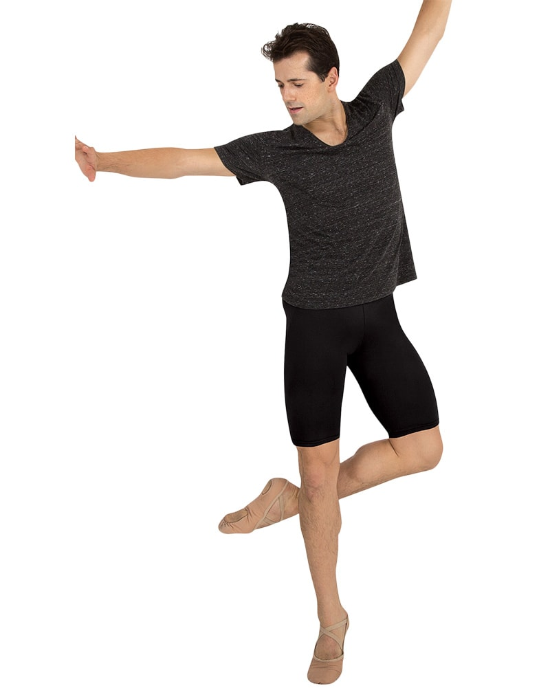 Body Wrappers ProWear Above The Knee Bike Shorts - M196 Mens - Dancewear - Men's & Boys - Dancewear Centre Canada