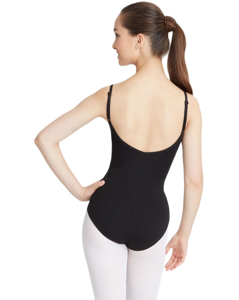 Capezio Classic Adjustable Strap Camisole Leotard - CC100C Girls - Dancewear - Bodysuits & Leotards - Dancewear Centre Canada
