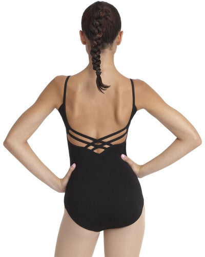 Capezio Classic Cross Back Camisole Leotard  CC102C Girls - Dancewear - Bodysuits & Leotards - Dancewear Centre Canada