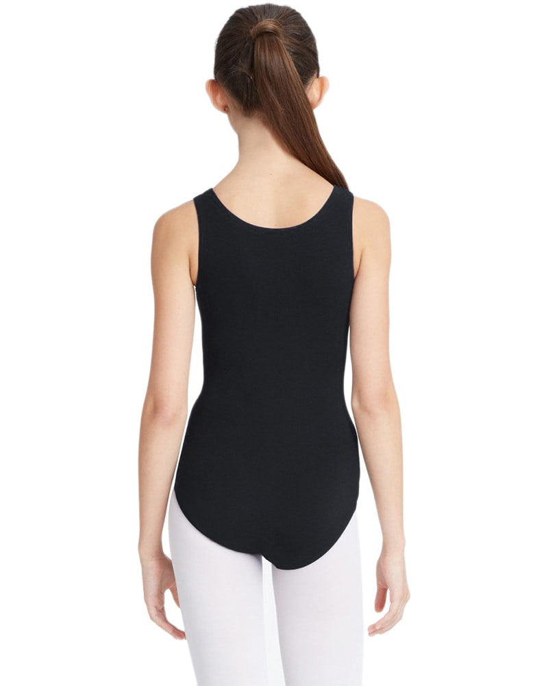 Capezio CC201C - Classic High Neck Tank Leotard Girls - Dancewear - Bodysuits & Leotards - Dancewear Centre Canada