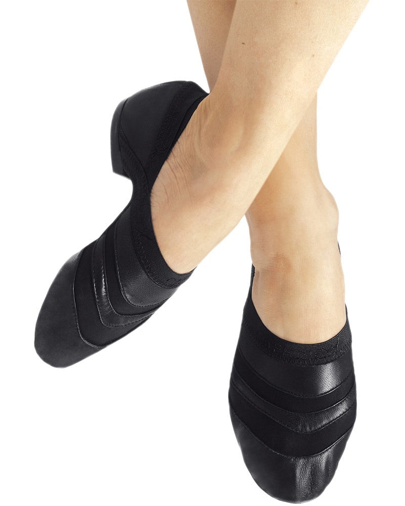 Capezio Freeform Leather Slip On Jazz Shoes - FF05 Womens