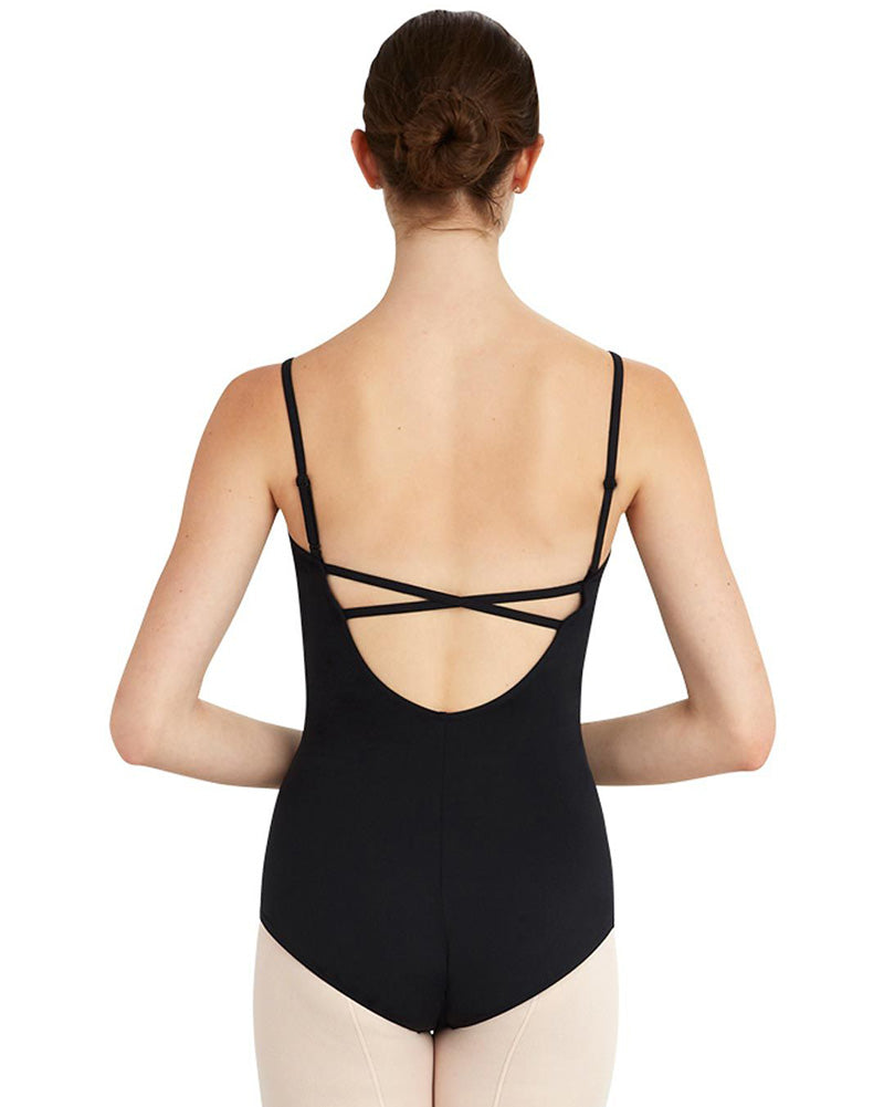 Capezio BraTek 2 Deep Back Camisole Leotard - MC802W Womens - Dancewear - Bodysuits & Leotards - Dancewear Centre Canada