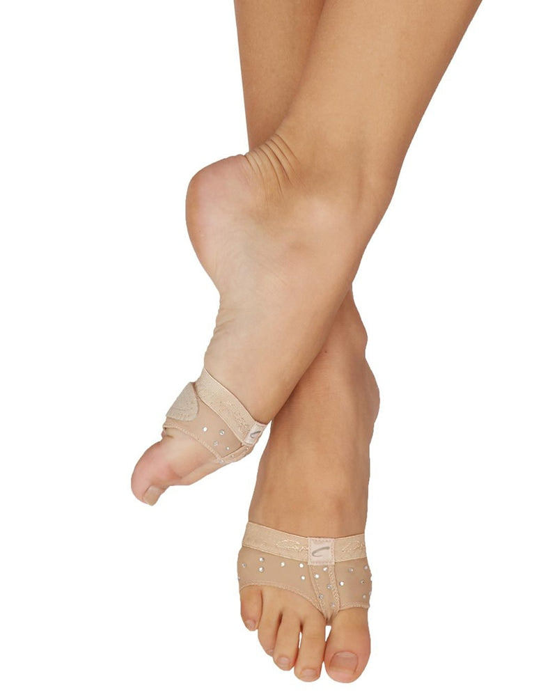 Capezio Crystal Footundeez Turning Dance Shoes - H07R Womens - Dance Shoes - Acro & Modern Shoes - Dancewear Centre Canada