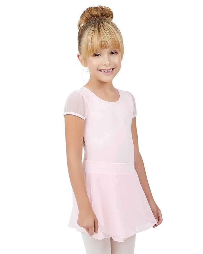 Capezio Mock Wrap Tactel Pull-On Ballet Skirt - TC0011C Girls