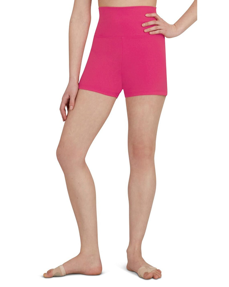 Capezio Team Basic High Waisted Dance Shorts - TB131C Girls - Dancewear - Bottoms - Dancewear Centre Canada