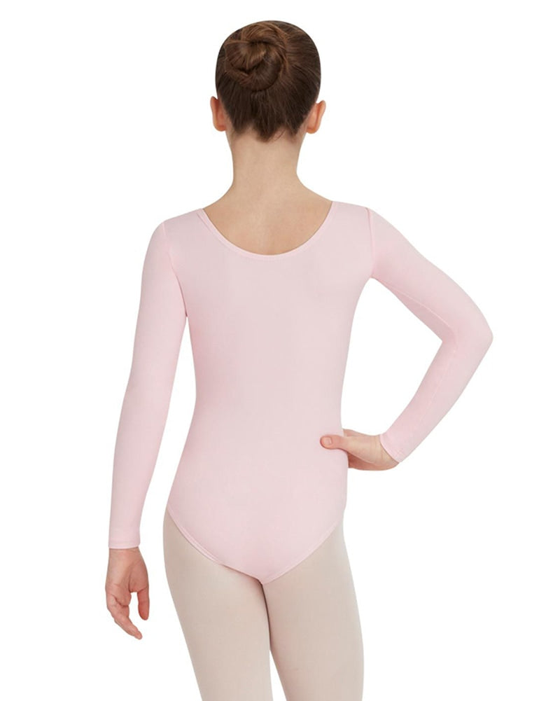 Capezio Team Basic Long Sleeve Leotard - TB134C Girls - Dancewear - Bodysuits & Leotards - Dancewear Centre Canada