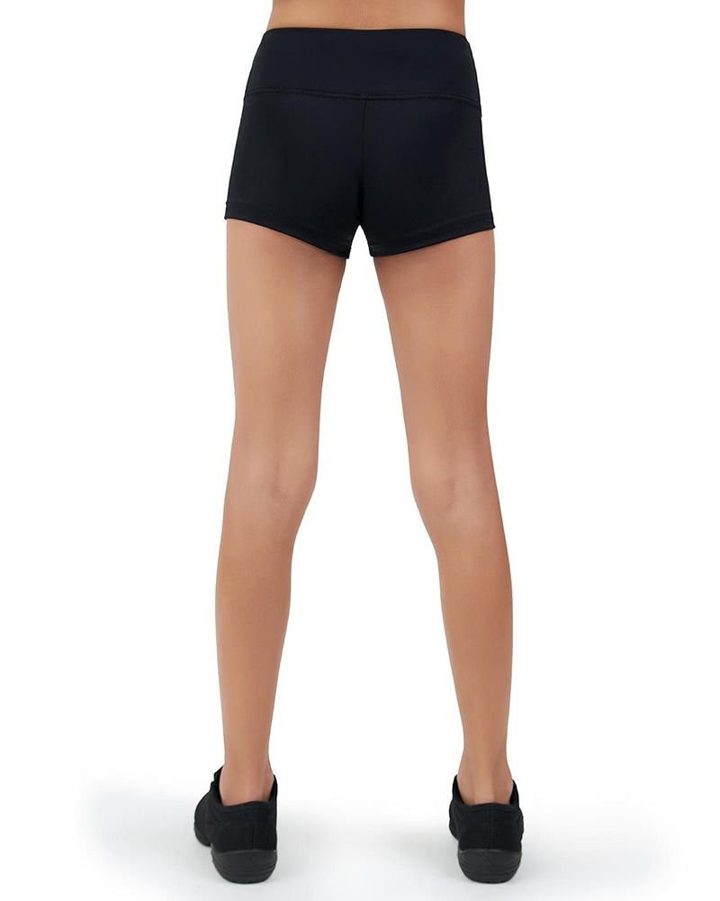 Capezio Team Basic Wide Waistband Gusset Dance Shorts - TB130C Girls - Dancewear - Bottoms - Dancewear Centre Canada