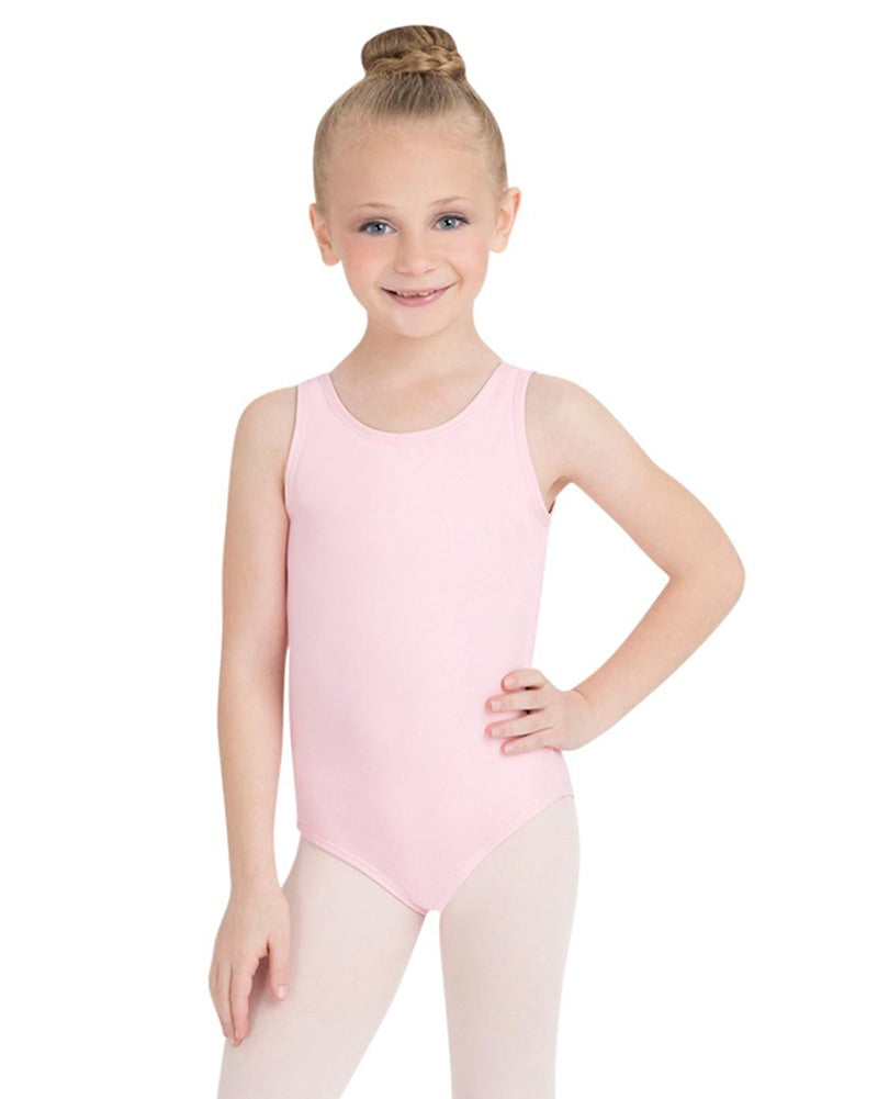 Capezio Team Basic Classic Tank Leotard - TB142C Girls - Dancewear - Bodysuits & Leotards - Dancewear Centre Canada