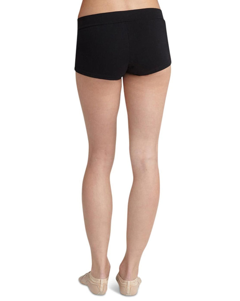 Capezio V-Waist Cotton Boy Dance Shorts - CC600 Womens - Dancewear - Bottoms - Dancewear Centre Canada