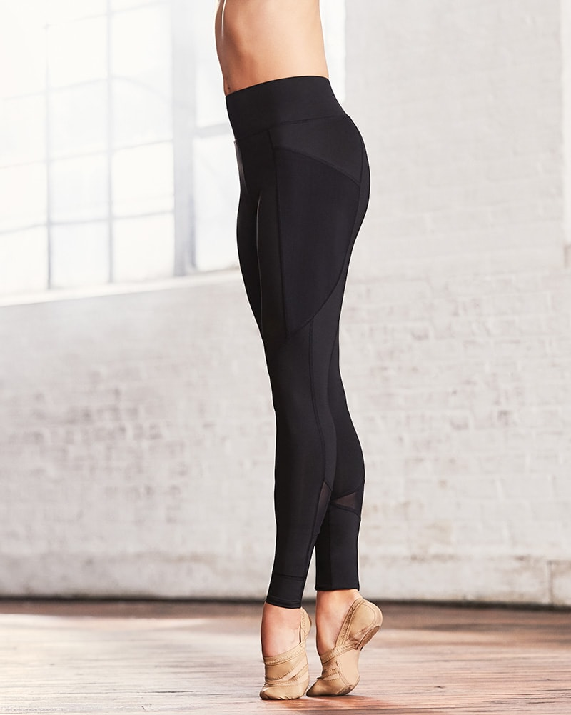 Capezio Renewal Mesh Panels Dance Leggings - 109191W Womens - Dancewear - Bottoms - Dancewear Centre Canada