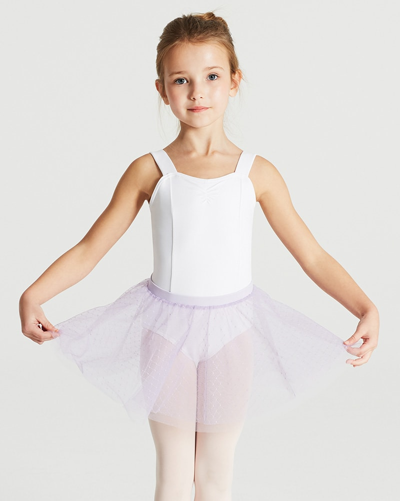 Capezio Little Girls Pull On Georgette Skirt All Sizes N9635C