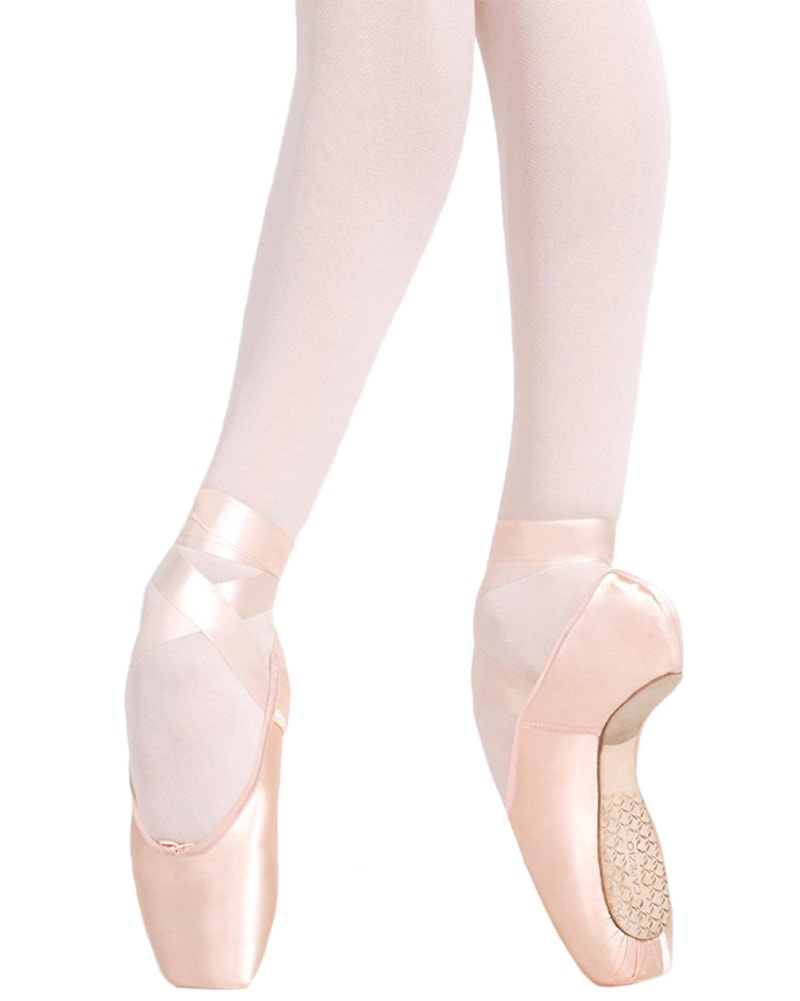 Capezio 1136W - Developpe Feathered Box 3 Shank Pointe Shoes Womens - Dance Shoes - Pointe Shoes - Dancewear Centre Canada