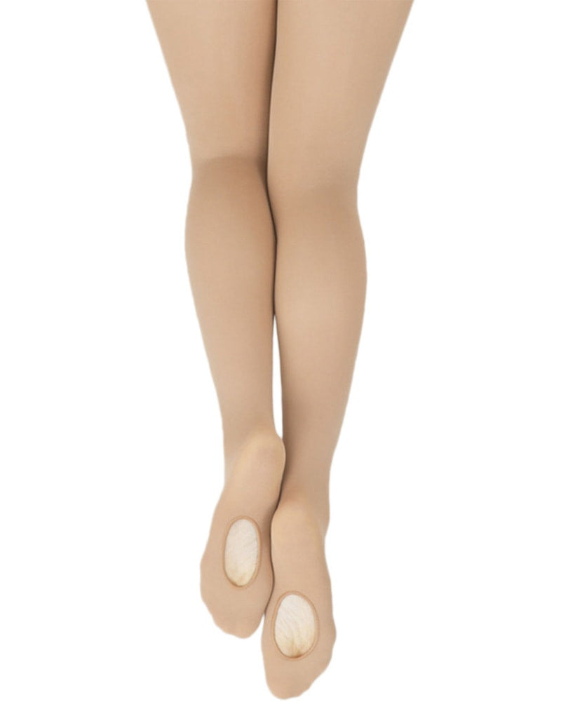 959200bbd96cb Capezio 1916XC - Ultra Soft Knit Waistband Transition Dance Tights Girls - Dance  Tights - Transition