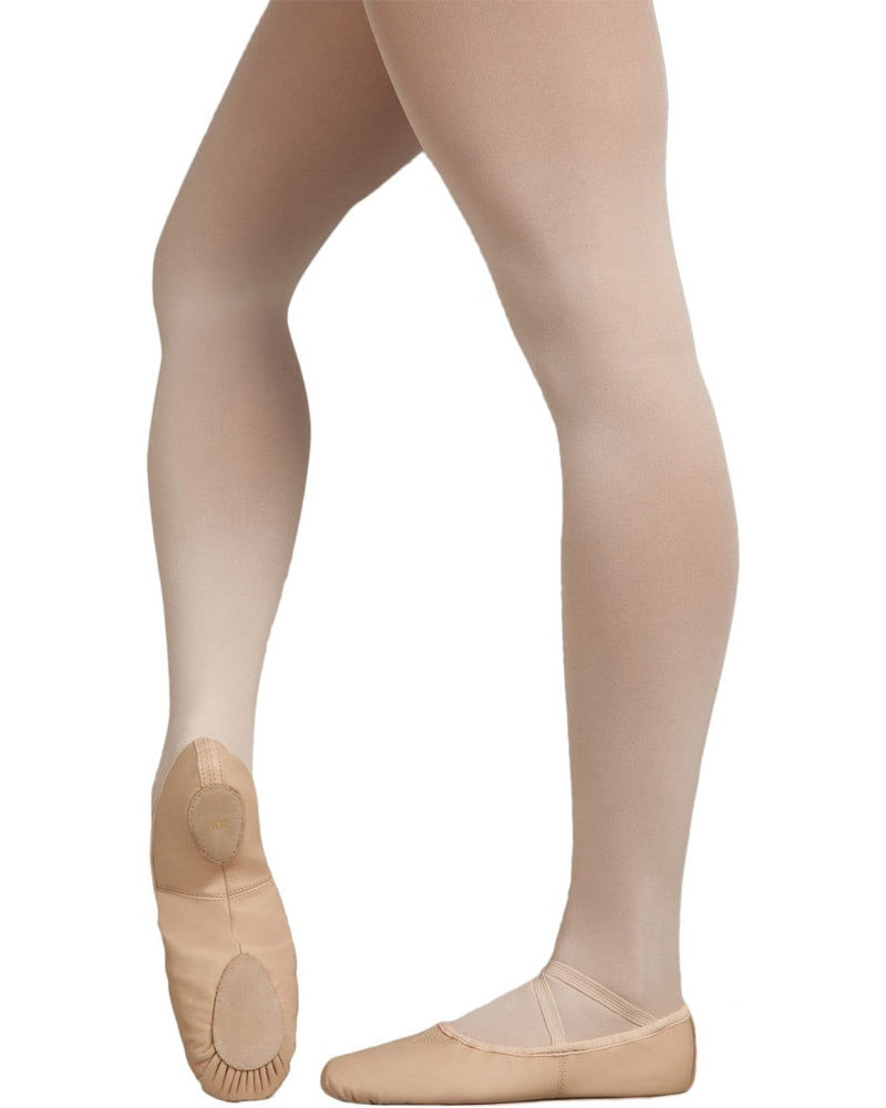Capezio Cobra Leather Split Sole Ballet Slippers - 2033 Womens - Dance Shoes - Ballet Slippers - Dancewear Centre Canada