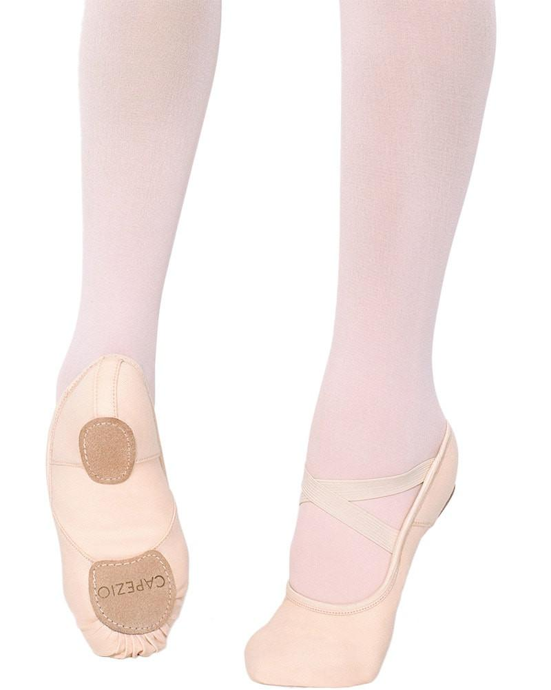 Capezio Hanami Canvas Split Sole Ballet Slippers - 2037W Womens - Dance Shoes - Ballet Slippers - Dancewear Centre Canada