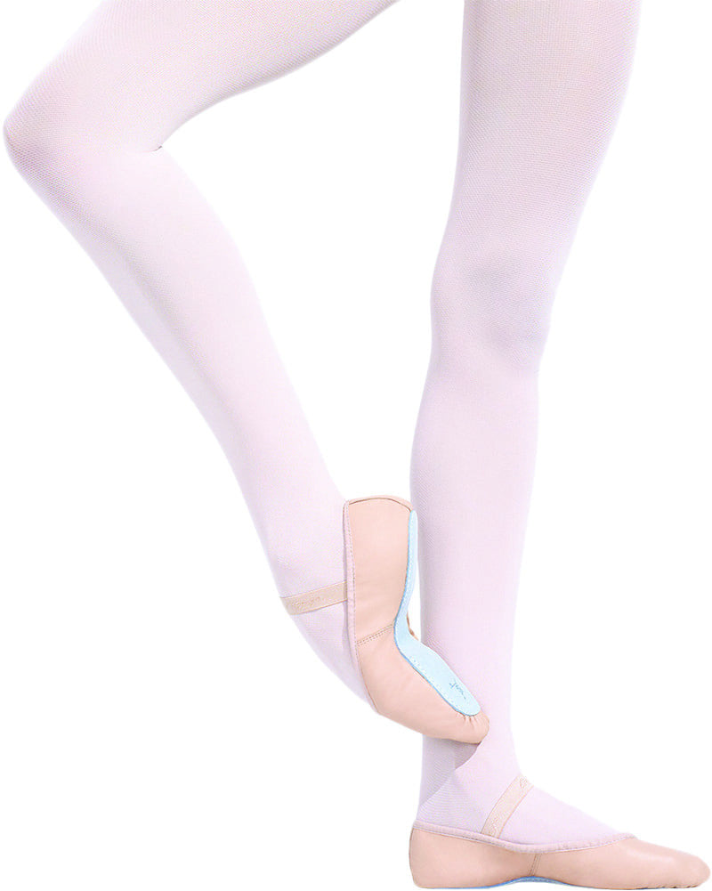 Capezio Daisy Leather Full Sole Ballet Slippers - 205C Girls - Dance Shoes - Ballet Slippers - Dancewear Centre Canada