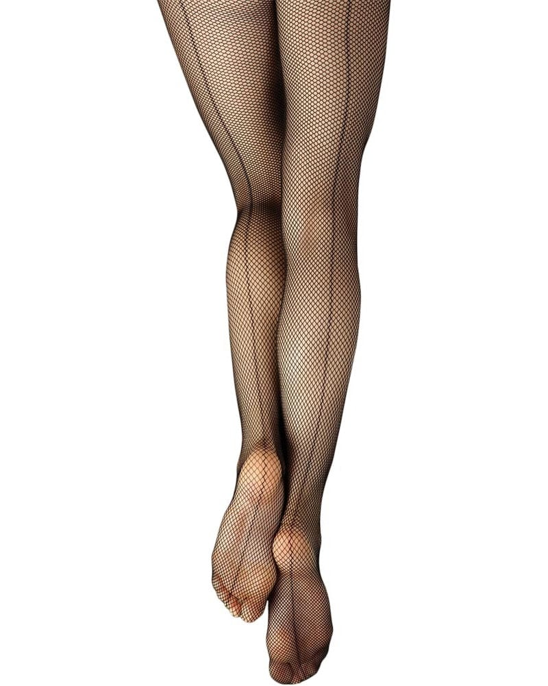 Capezio Studio Basics Back Seamed Fishnet Dance Tights - 3408 Womens