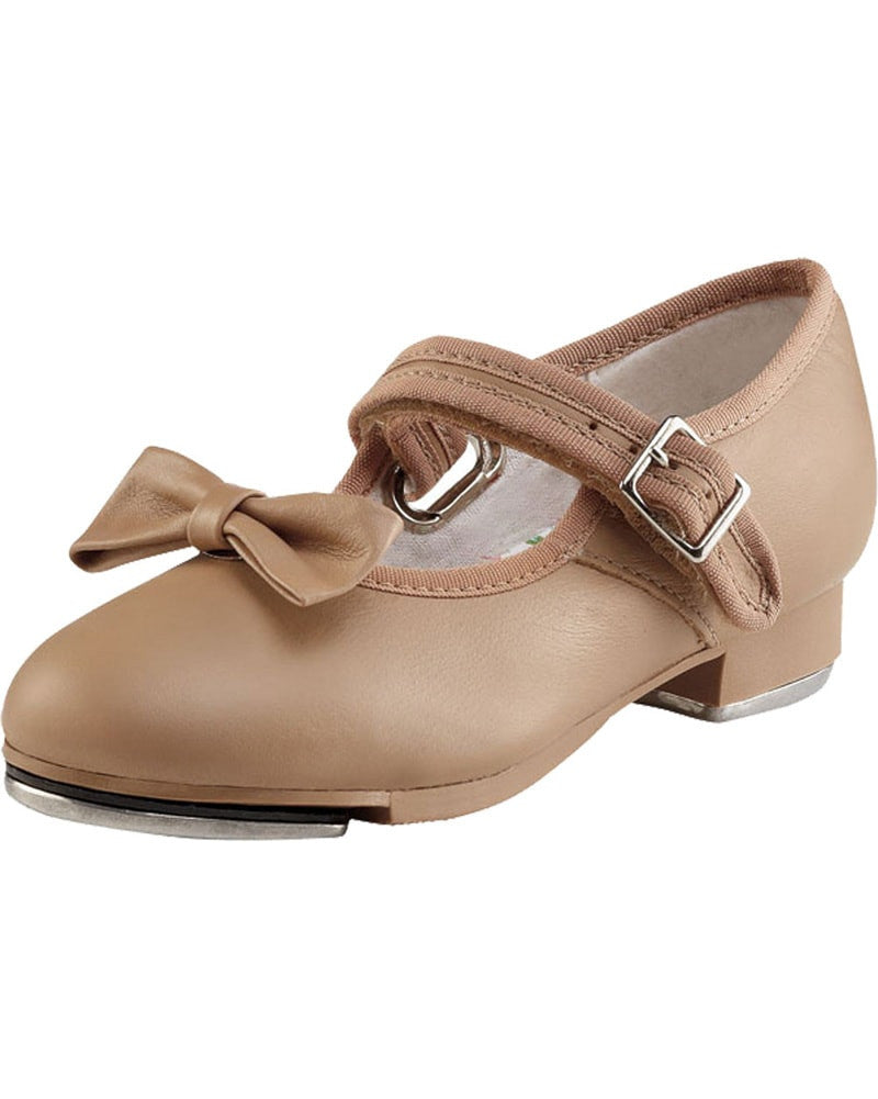 Capezio 3800C - Mary Jane Leather Buckle Strap Tap Shoes Girls