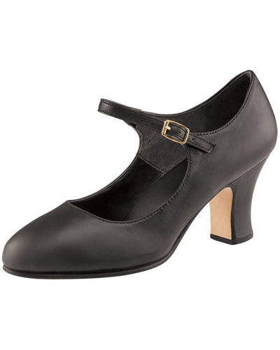 "Capezio Manhattan Leather 2.5"" Character Shoes - 653 Womens - Dance Shoes - Character & Musical Theatre Shoes - Dancewear Centre Canada"