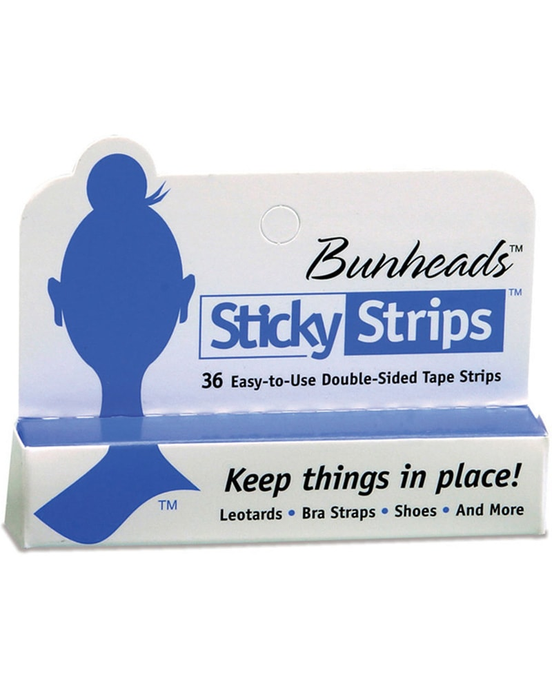 Capezio Bunheads Sticky Strips Double Sided Tape - BH365U - Accessories - Dance Care - Dancewear Centre Canada