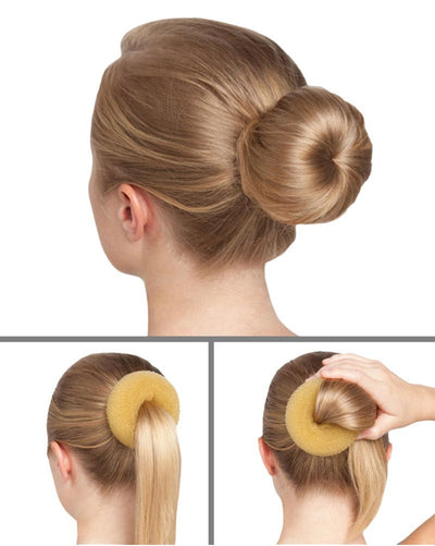 Capezio Bunheads BH483 - Bun Builder Jr. Bun Donut - Accessories - Hair Care - Dancewear Centre Canada