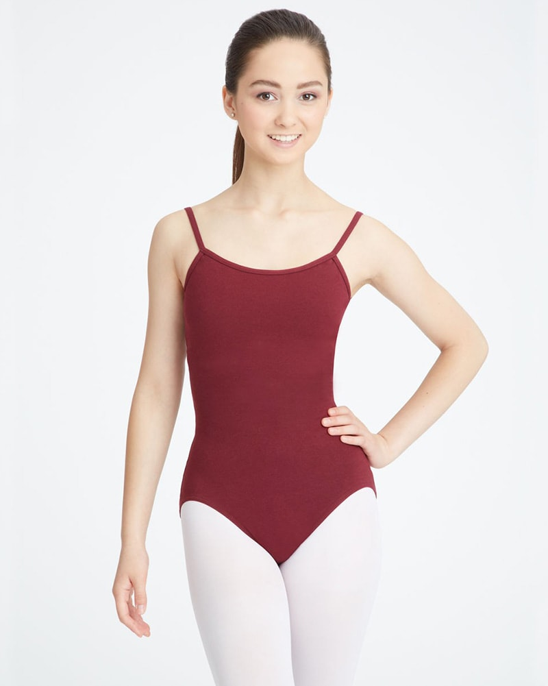 Capezio Classic Adjustable Strap Camisole Leotard - CC100 Womens - Dancewear - Bodysuits & Leotards - Dancewear Centre Canada