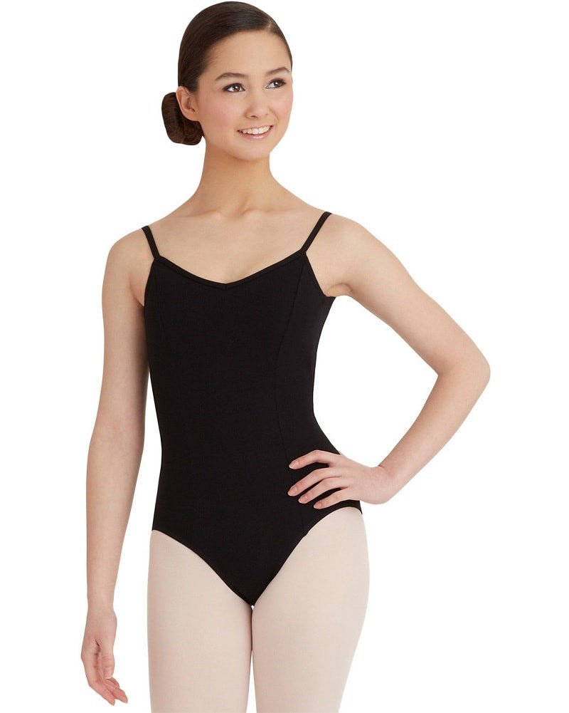 Capezio Classic Princess Seamed Camisole Leotard - CC101C Girls - Dancewear - Bodysuits & Leotards - Dancewear Centre Canada