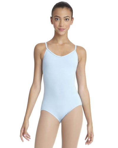 Capezio Classic Cross Back Camisole Leotard - CC102 Womens - Dancewear - Bodysuits & Leotards - Dancewear Centre Canada