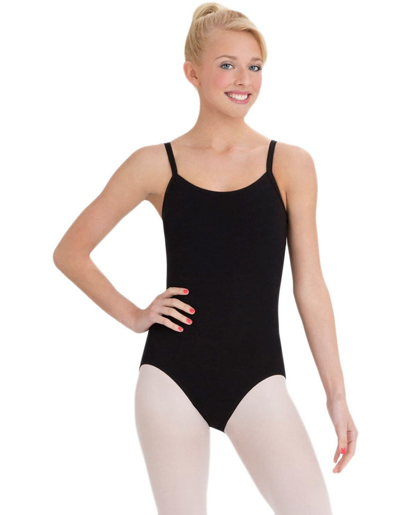 Capezio Classics BraTek Adjustable Straps Camisole Leotard - CC110 Womens - Dancewear - Bodysuits & Leotards - Dancewear Centre Canada
