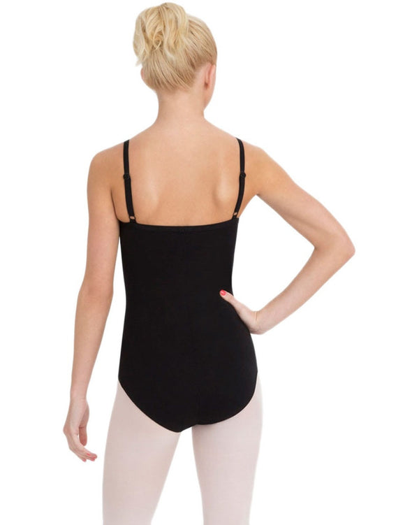 Capezio CC110 - Classics BraTek Adjustable Straps Camisole Leotard Womens - Dancewear - Bodysuits & Leotards - Dancewear Centre Canada